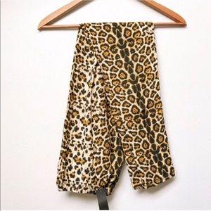 Plus // Leopard Print Leggings